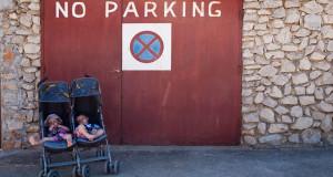 Kinderwagen-Hausflur