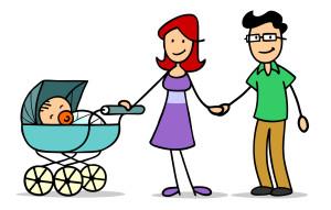 Ein Kinderwagen kann oft günstiger im Internet erworben werden