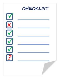 Checkliste Kinderwagen und Buggy